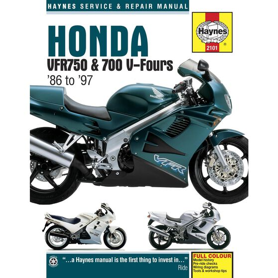 HONDA VFR750 & 700 V-FOURS (86 - 97), , scaau_hi-res