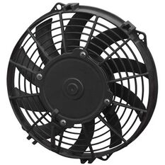 """11"""" ELECTRIC THERMO FAN CURVED BLADES - PUSHER TYPE"""