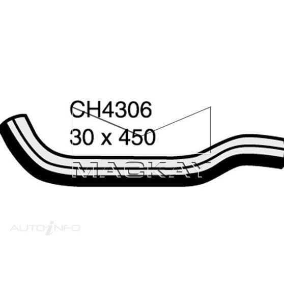 Radiator Upper Hose  - HONDA CIVIC FD - 2.0L I4  PETROL - Manual & Auto, , scaau_hi-res
