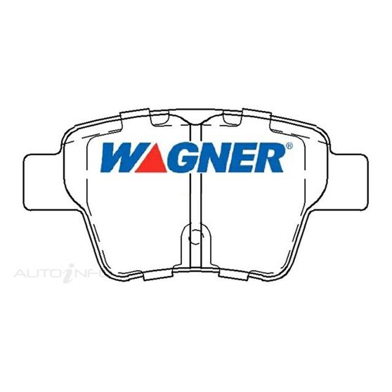 Wagner Brake pad [ Citroen & Peugeot 2001-2010 R ], , scaau_hi-res