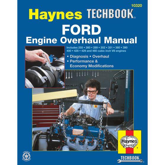 FORD ENGINE OVERHAUL HAYNES TECHBOOK, , scaau_hi-res