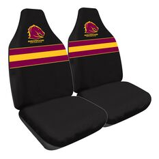 NRL BRONCOS SEAT COVER SIZE 60