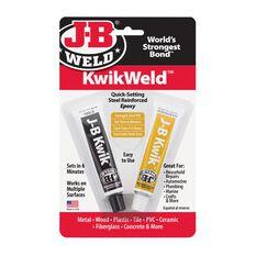 JB WELD KWIKWELD QUICK SETTING STEEL REINFORCED EPOXY, , scaau_hi-res