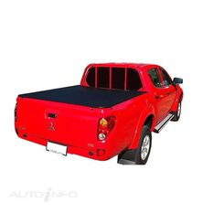 TRITON MN DUAL CAB WITHOUT SPORTS BARS&WITH OR WITHOUT HEADBOARD, CLIP ON UTE TONNEAU COVER, , scaau_hi-res
