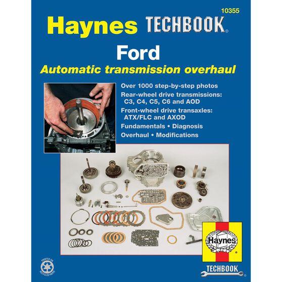 FORD AUTOMATIC TRANSMISSION OVERHAUL HAYNES TECHBOOK, , scaau_hi-res