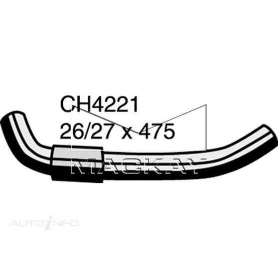 Radiator Upper Hose  - TOYOTA LITEACE KM36R - 1.5L I4  PETROL - Manual & Auto, , scaau_hi-res