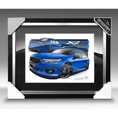 A3 SIZE - FG X XR6 SPRINT KINETIC BLUE (FT424), , scaau_hi-res