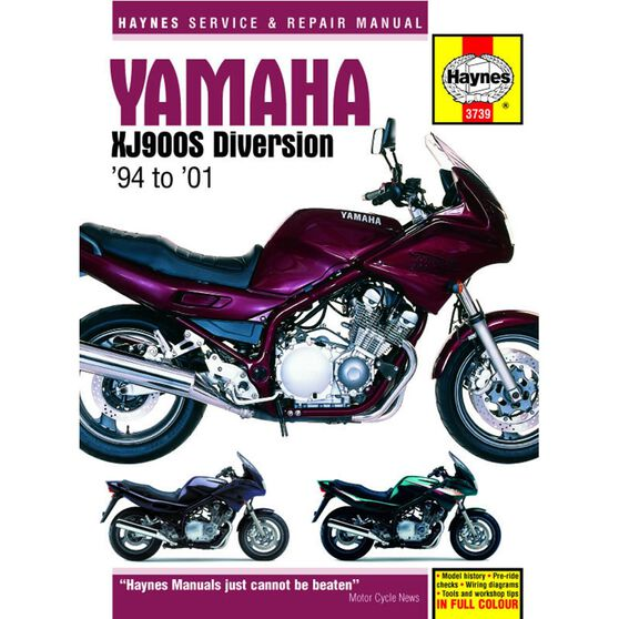 YAMAHA XJ900S DIVERSION 1994 - 2001, , scaau_hi-res
