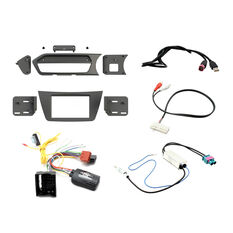INSTALL KIT TO SUIT MERCEDES C-CLASS W204 (BLACK), , scaau_hi-res