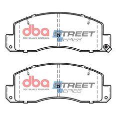 DBA SS STREET SERIES BRAKE PADS [ Toyota Dyna / Coaster 1982 - 1992 F ], , scaau_hi-res
