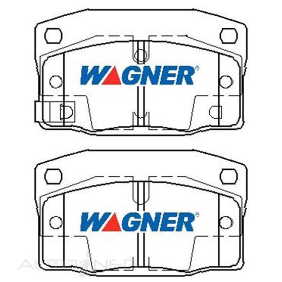 Wagner Brake pad [ Daewoo & Holden 1988-97 F ], , scaau_hi-res