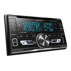 KENWOOD DUAL DIN CD BLUETOOTH USB RECEIVER WITH DAB+