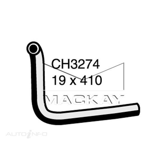 Heater Hose FORD Crown Victoria  4.6 Litre Valve to manifold with Auto temp control*, , scaau_hi-res