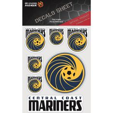 CENTRAL COAST MARINERS ITAG DECALS SHEET