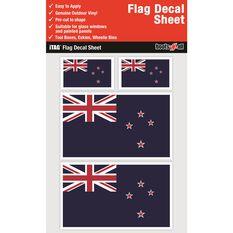 NEW ZEALAND FLAG DECALS SHEET