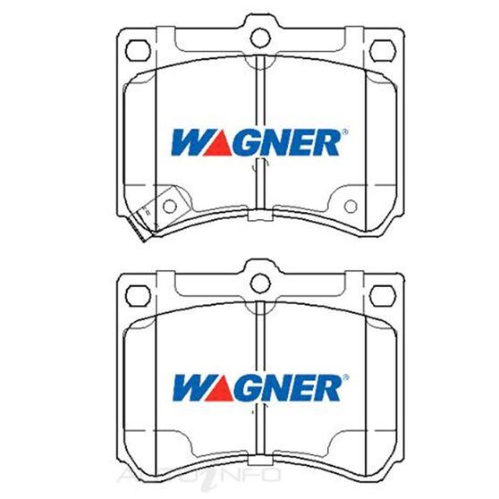 Wagner Brake pad [ Eunos/Ford & Mazda 1989-2014 R ], , scaau_hi-res