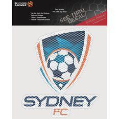 SYDNEY FC ITAG SEE THRU DECAL, , scaau_hi-res