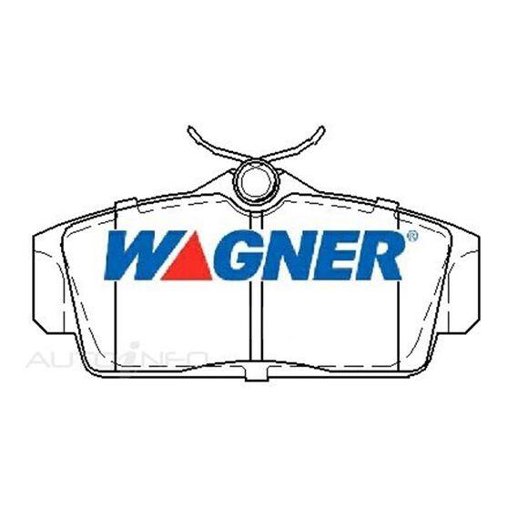 Wagner Brake pad [ Nissan Pulsar N16 1.6 & 1.8L 2000-2006 F ], , scaau_hi-res