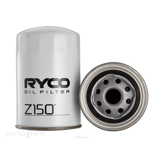RYCO OIL FILTER - Z150, , scaau_hi-res