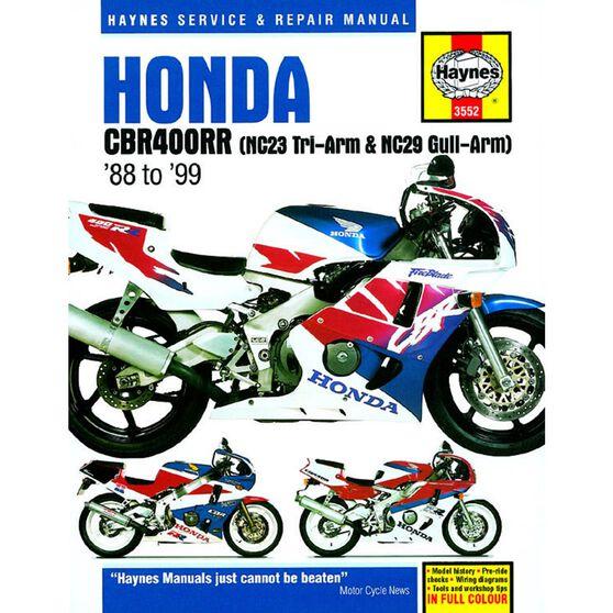 HONDA CBR400RR FOURS (88 - 99), , scaau_hi-res