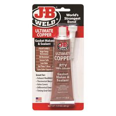 JB WELD ULTIMATE COPPER SILICONE 85G, , scaau_hi-res