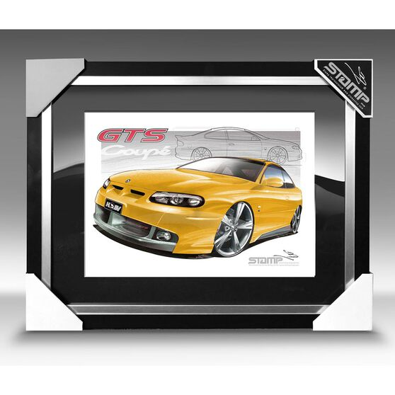 A3 SIZE - GTS COUPE DEVIL YELLOW (V110), , scaau_hi-res
