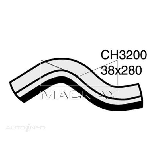 Radiator Upper Hose  - SUBARU IMPREZA GF - 2.0L F4  PETROL - Manual & Auto, , scaau_hi-res