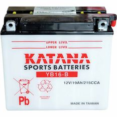 KATANA MOTORCYCLE BATTERY - YB16-B, , scaau_hi-res