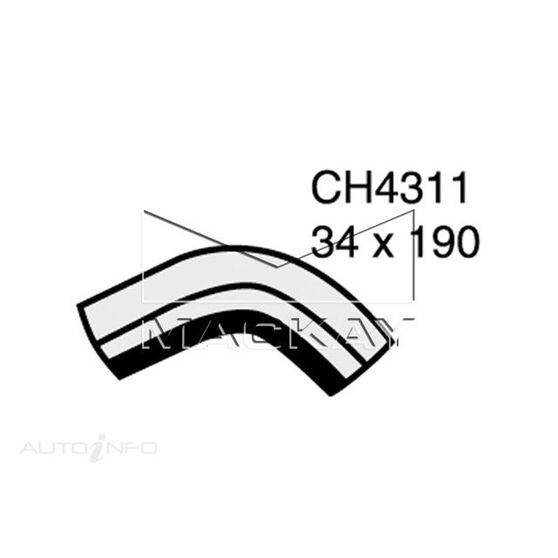 Radiator Lower Hose  - TRIUMPH TR2 . - 2.0L I4  PETROL - Manual & Auto, , scaau_hi-res