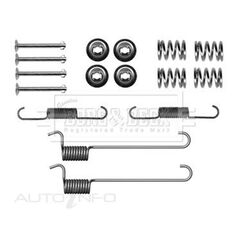 NISSAN X-TRAIL 07/01- FITTING KIT - SHOES, , scaau_hi-res