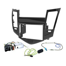 INSTALL KIT TO SUIT HOLDEN CRUZE JG, JH (GLOSS BLACK), , scaau_hi-res