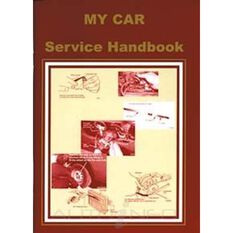 MY CAR SERVICE & MAINTENANCE BOOK 9780958727846