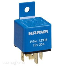 RELAY 12V 5PIN 30A BLISTER, , scaau_hi-res