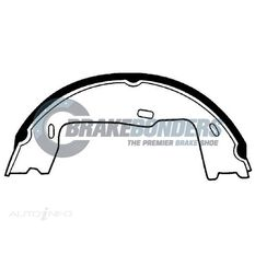 BRAKE SHOES - HOLDEN PARKING BRAKE 180MM, , scaau_hi-res