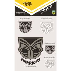WARRIORS ITAG DECALS SHEET (CLEAR VINYL)