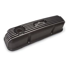 CLASSIC SERIES VALVE COVERS FE  FORD BLACK W/FILLER HOLE, , scaau_hi-res