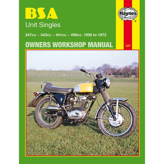 BSA UNIT SINGLES 1958 - 1972, , scaau_hi-res