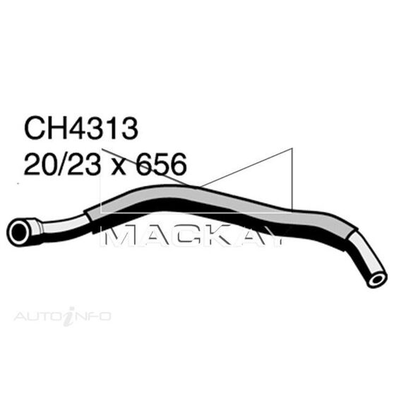 Crankcase Ventilation Hose (PCV)  - FIAT 124 . - 2.0L I4  PETROL - Manual & Auto, , scaau_hi-res