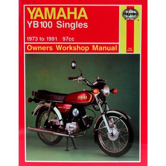 YAMAHA YB100 SINGLES 1973 - 1991, , scaau_hi-res