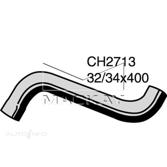 Radiator Upper Hose  - SSANGYONG MUSSO . - 2.9L I5 Turbo DIESEL - Manual & Auto, , scaau_hi-res