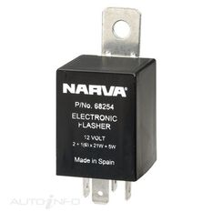 ELEC. FLASHER 12V 4 PIN BL