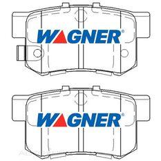 Wagner Brake pad [ Honda & MG 1990-2014 R ], , scaau_hi-res