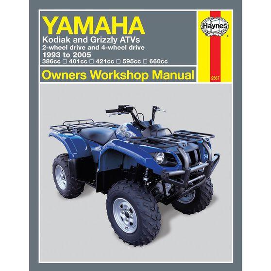 YAMAHA KODIAK AND GRIZZLY ATVS 1993 - 2005, , scaau_hi-res