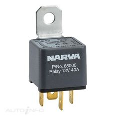 RELAY 12V 4PIN 40A BL PACK