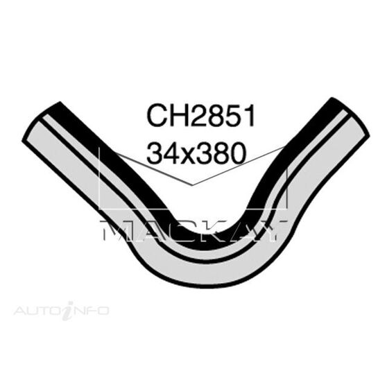 Radiator Upper Hose  - DAIHATSU ROCKY . - 2.8L I4  DIESEL - Manual & Auto, , scaau_hi-res