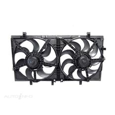 HOLDEN COMMODORE  VESERIES 1  08/2006 ~ 09/2010  DUAL RADIATOR FAN  V6MODELS ONLY., , scaau_hi-res