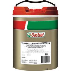 TRANSMAX DEX-VI MERCON LV 20L, , scaau_hi-res