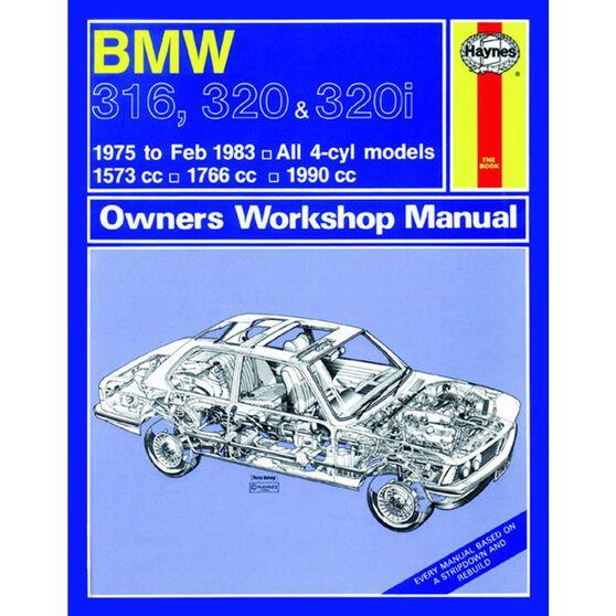 BMW 316, 320 & 320I 4-CYL (1975 -1983), , scaau_hi-res