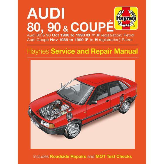 AUDI 80, 90 & COUPE PETROL (1986 - 1990), , scaau_hi-res