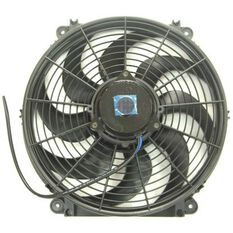 """13"""" ELEC SKEW BLADE THERMO FAN 1430CFM / PULLER (BACO STYLE)"""